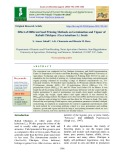 Effect of different seed priming methods on germination and vigour of Kabuli chickpea (Cicer kabulium L.) seeds