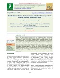 Health status of women workers involved in cashew processing units in Konkan region of Maharashtra, India