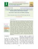 A comparative study on socio-personal and economic profile of contract farmers and non-contract farmers in Jammu