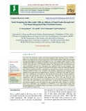 Yield targeting for rice under sri on alfisols of Tamil Nadu through soil test based integrated plant nutrition system
