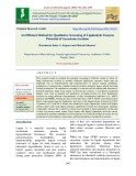 An efficient method for qualitative screening of ligninolytic enzyme potential of Ganoderma lucidum
