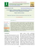 Growth pattern, nutrient use ratio and nutrient harvest index as influenced by nutrient management in pearlmillet