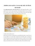 Phương pháp quản lý danh mục đầu tư tối ưu lợi nhuận