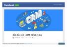 Bắt đầu với CRM Marketing
