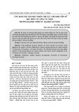 Ứng dụng bài tập phát triển thể lực cho sinh viên nữ học môn cầu lông tự chọn trường Đại học Kinh tế - Đại học Đà Nẵng