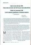 Quản trị chi phí chiến lược (SCNI) Công cụ nâng cao năng lực cạnh tranh trong các doanh nghiệp Việt Nam