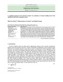 A combined numerical and statistical analysis for prediction of critical buckling load of the cylindrical shell with rectangular cutout