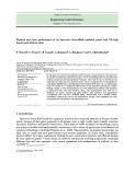 Flexural and shear performance of an innovative foam-filled sandwich panel with 3-D high density polyethylene skins