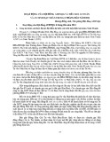 Hoạt động của hội đồng ATHNQG và tiểu ban an toàn và an ninh hạt nhân trong 6 tháng đầu năm 2014