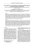 Sự thay đổi cấu trúc và tính chất hóa lý của maltodextrin dưới tác động của argon-plasma nguội ở áp suất khí quyển