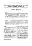 Nghiên cứu động học của phản ứng giữa gốc propargyl (C3H3) với phân tử nước (H2O) và gốc hyđroxyl (OH) trong pha khí