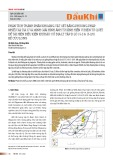 Phân tích thành phần khoáng vật sét bằng phương pháp nhiễu xạ tia X và minh giải hình ảnh từ kính hiển vi điện tử quét để tái hiện điều kiện khí hậu cổ địa lý tập D Lô 15-2 & 15-2/01. bể Cửu Long