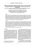 Nghiên cứu ảnh hưởng của nồng độ SbCl3 đến cấu trúc và tính chất của lớp màng phủ hỗn hợp oxit SnO2-Sb2O3/HKC và khả năng xử lý chất màu Rhodamine B