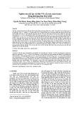 Nghiên cứu chế tạo vật liệu VO2 cấu trúc micro/nano bằng phương pháp thuỷ nhiệt
