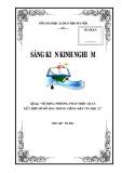 SKKN: Sử dụng phương pháp trực quan kết hợp sơ đồ hóa trong giảng dạy Tin học 12