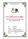 SKKN: Hình thức tổ chức dạy Tập đọc nhạc trong trường tiểu học