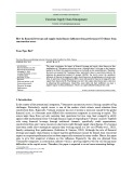 How do financial leverage and supply chain finance influence firm performance? Evidence from construction sector