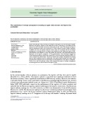 The contribution of strategic management accounting in supply chain outcomes and logistic firm profitability