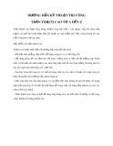 Hướng dẫn kỹ thuật thi công trần thạch cao từ A đến Z