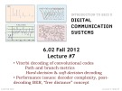 Lecture Digital communication systems - Lecture 7