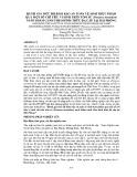 Đánh giá mức độ đảm bảo an toàn vệ sinh thực phẩm qua một số chỉ tiêu vi sinh trên tôm sú (penaeus monodon) nuôi thâm canh theo hình thức đa cấp tại Hải Phòng