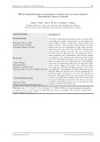 Effects of phytohormones and position on mother stem on culm cutting of Thyrsostachys siamensis gamble