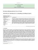 Determinants influencing audit delay: The case of Vietnam