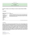 The effects of attitude, trust and switching cost on loyalty in commercial banks in Ho Minh City