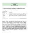 The linkages between growth, poverty and inequality in Vietnam: An empirical analysis