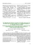Đặc điểm hình thái, sinh học và phân tử của nấm Colletotrichum spp. gây bệnh thán thư trên cây mãng cầu ta (ANNONA SQUAMOSA L.) tại tỉnh Bình Thuận và Tây Ninh