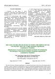 Hiệu quả của tinh dầu sả và dầu tỏi trong làm giảm sự gây hại của sâu đục quả cây có múi Citripestis sagittiferella (Lepidoptera: Pyralidae)