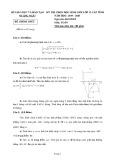 Đề thi HSG môn Toán lớp 12 năm 2019-2020 - Sở GD&ĐT Quảng Ngãi