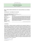 Review evolution of cellular manufacturing system's approaches: Human resource planning method