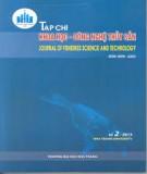 Tạp chí Khoa học – Công nghệ Thủy sản: Số 1/2016