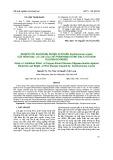 Nghiên cứu khả năng kháng vi khuẩn Xanthomonas oryzae gây bệnh bạc lá lúa của chế phẩm nano đồng-bạc/Chitosan Oligosaccharide