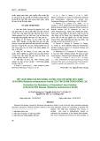 Kết quả đánh giá khả năng chống chịu với bệnh héo xanh vi khuẩn (Ralstonia solanacearum Smith) của tập đoàn dòng/giống lạc