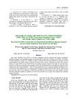 Ứng dụng kỹ thuật One-Step RT-PCR chẩn đoán bệnh cứng trái do vi rút (East Asian Passiflora Virus - EAPV) gây bệnh trên chanh leo ở Việt Nam