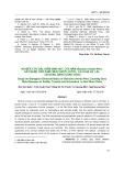 Nghiên cứu đặc điểm sinh học của nấm Botrytis cinerea Pers. gây bệnh thối xám trên thược dược, cà chua và lạc tại đồng bằng sông Hồng