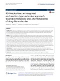 RD-Metabolizer: An integrated and reaction types extensive approach to predict metabolic sites and metabolites of drug-like molecules