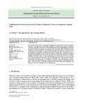 Coupling project and system criteria for design coordination: A focus on competences management