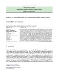 Resilience and sustainability of supply chain management in the Indian automobile industry