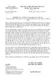 Công văn số 7422/TCHQ-TXNK