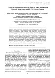 Analysis of reliability based systems of 20 KV distribution network disturbance on PT. PLN Rayon Panam