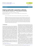 Analysis of radionuclides in microsystem: application to the selective recovery of 55Fe by solvent extraction