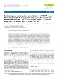 Partitioning and transmutation contribution of MYRRHA to an EU strategy for HLW management and main achievements of MYRRHA related FP7 and H2020 projects: MYRTE, MARISA, MAXSIMA, SEARCH, MAX, FREYA, ARCAS