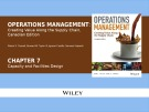 Lecture Operations management: Creating value along the supply chain (Canadian edition) - Chapter 7