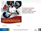 Lecture Entrepreneurship: Chapter 7 - William D. Bygrave, Andrew Zacharakis, Sean Wise