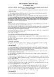 Tiêu chuẩn xây dựng Việt Nam TCXDVN 265:2002