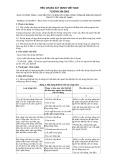 Tiêu chuẩn xây dựng Việt Nam TCXDVN 264:2002