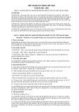 Tiêu chuẩn xây dựng Việt Nam TCXDVN 266:2002